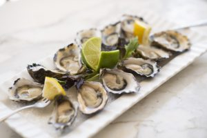 Oysters at Dubbo Milestone hotel